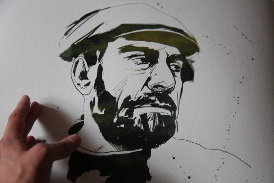 Portrait of Sergey Dovlatov