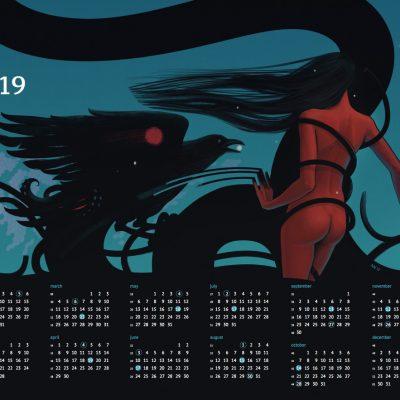 Random Hope Calendar 2019