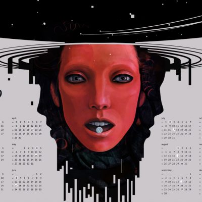Atomic Red Calendar 2019